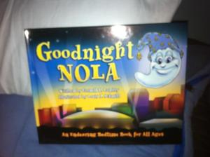 Another of Cornell Landry's books, given to us by CHNOLA's Childlife Dept.