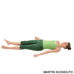 Corpse Pose via Yoga Journal (http://www.yogajournal.com/poses/482)
